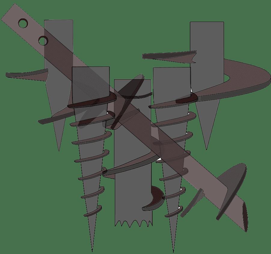Свая стальная винтовая СВС 219х10-6000-R-16х550 от 2018г.